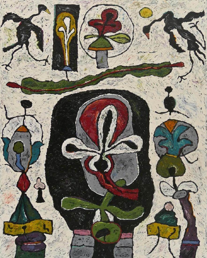 Alden Mason (1919-2013 Washington) ''Shrine of the