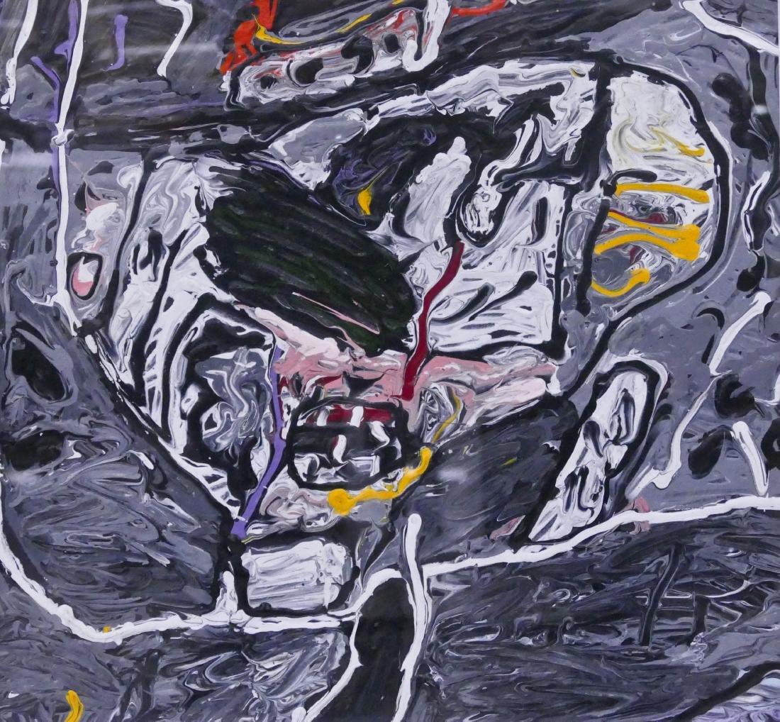 Alden Mason (1919-2013 Washington) ''New Guinea Head''