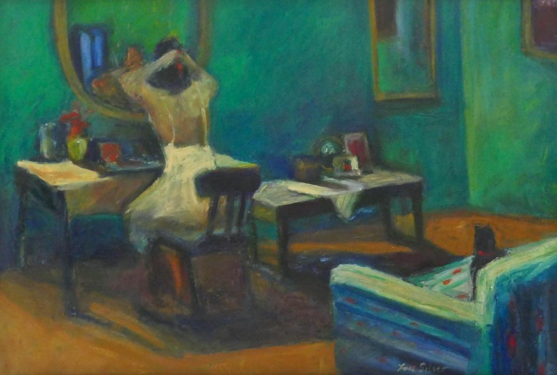 Lois Silver (b.1950 Washington) Untitled Woman at