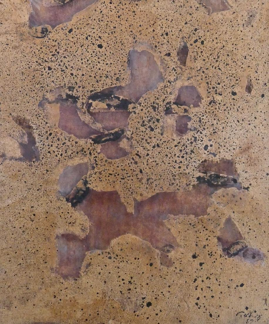 Mark Tobey (1890-1976 Washington) ''Final Fragments''