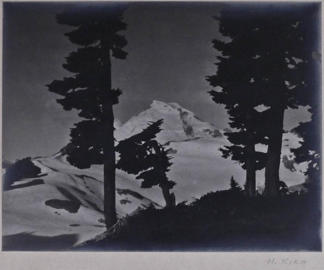 Hiromu Kira (1898-1991 Washington) Untitled Mountain