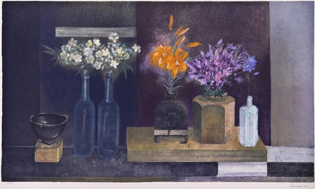 Morris Graves (1910-2001 Washington) ''Evening Light''