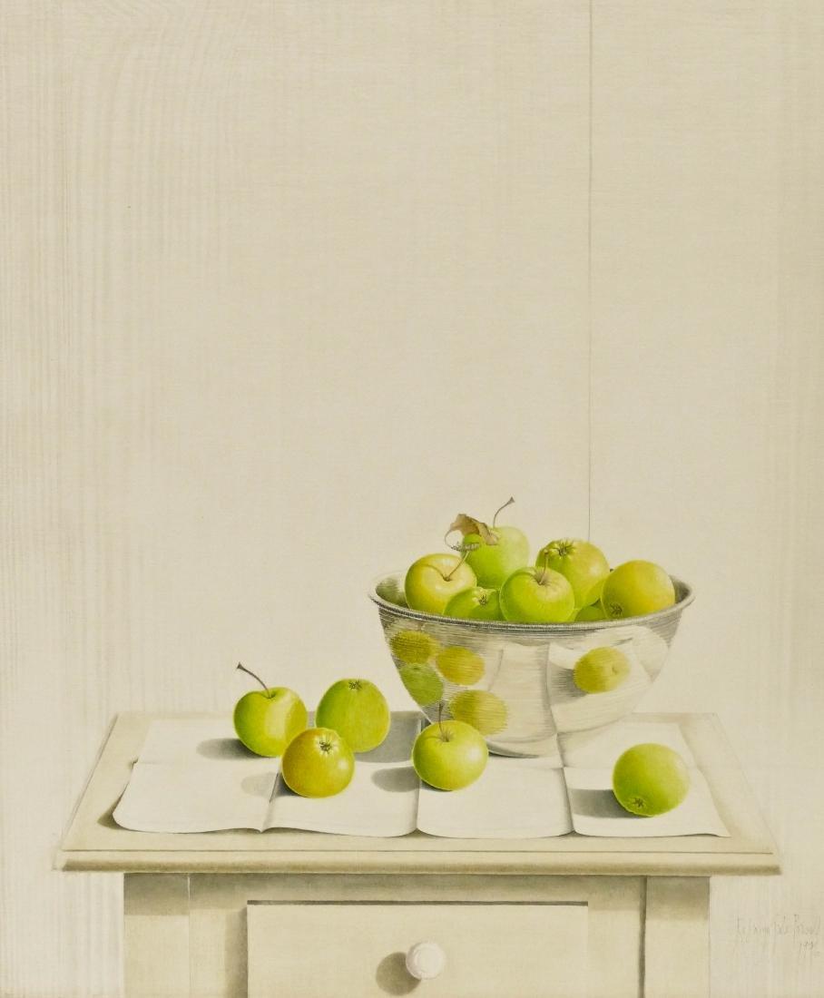 Rosalyn Gale Powell (1929-2007 Washington) ''Apples in