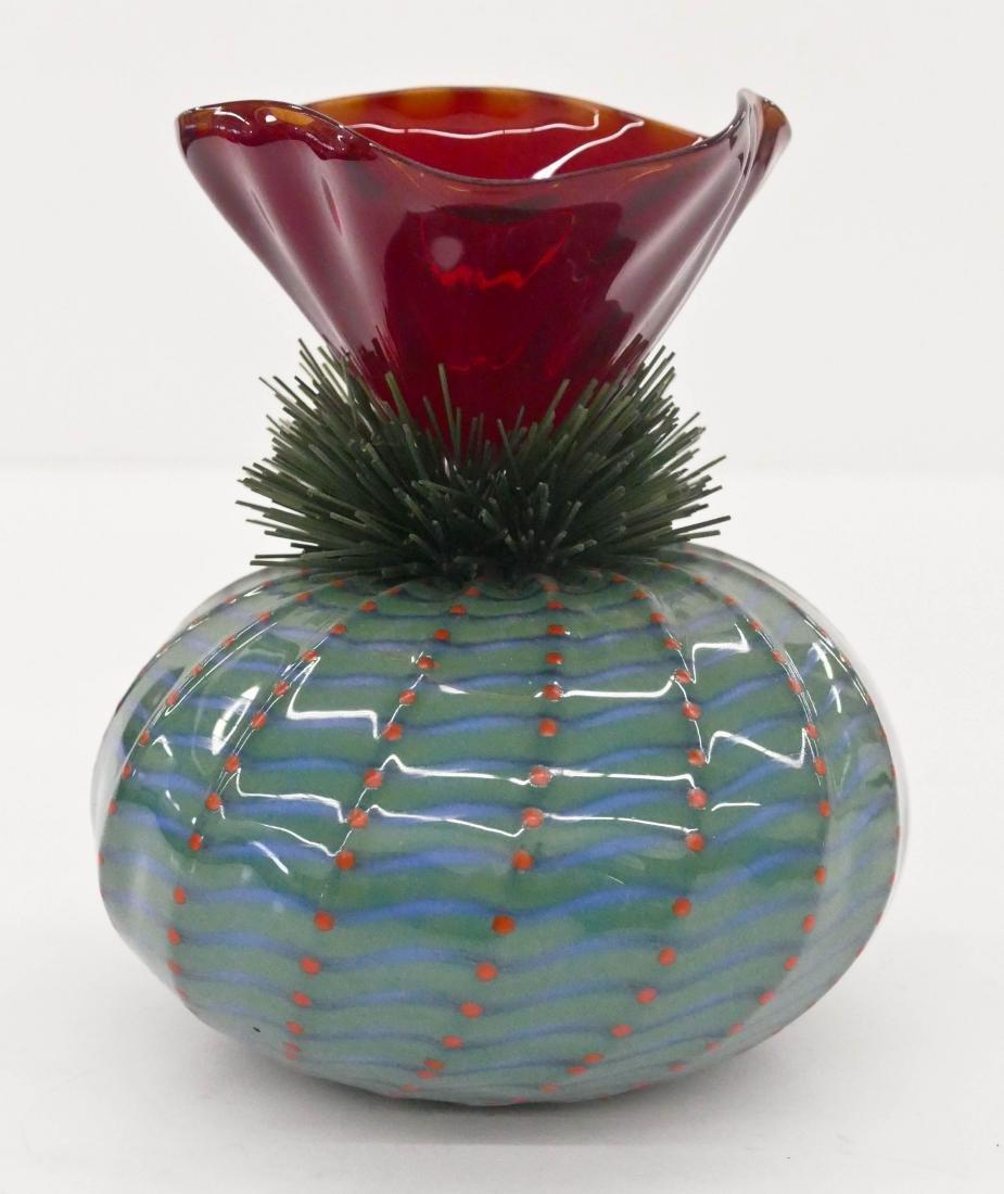 Flo Perkins (b.1951 American) Cactus Series Vase 1992
