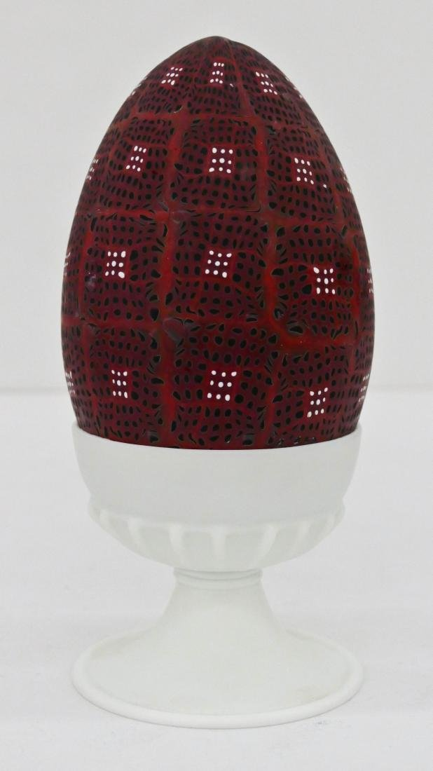Richard Marquis (b.1945 Washington) Egg and Egg Cup
