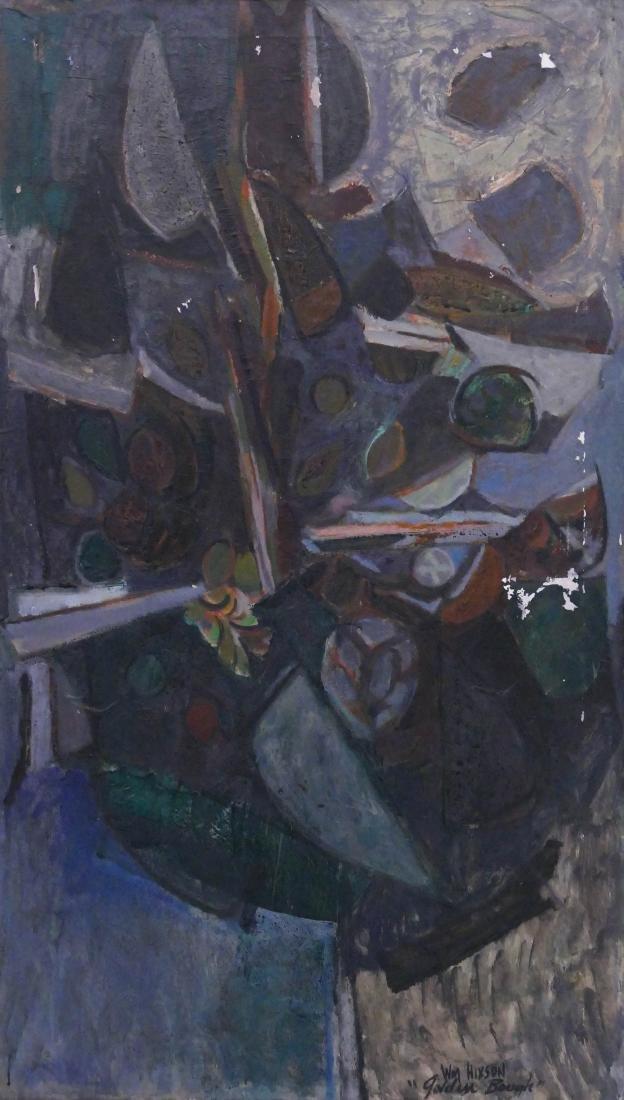 William Hixson (1922-2015 Washington) ''Golden Bough''
