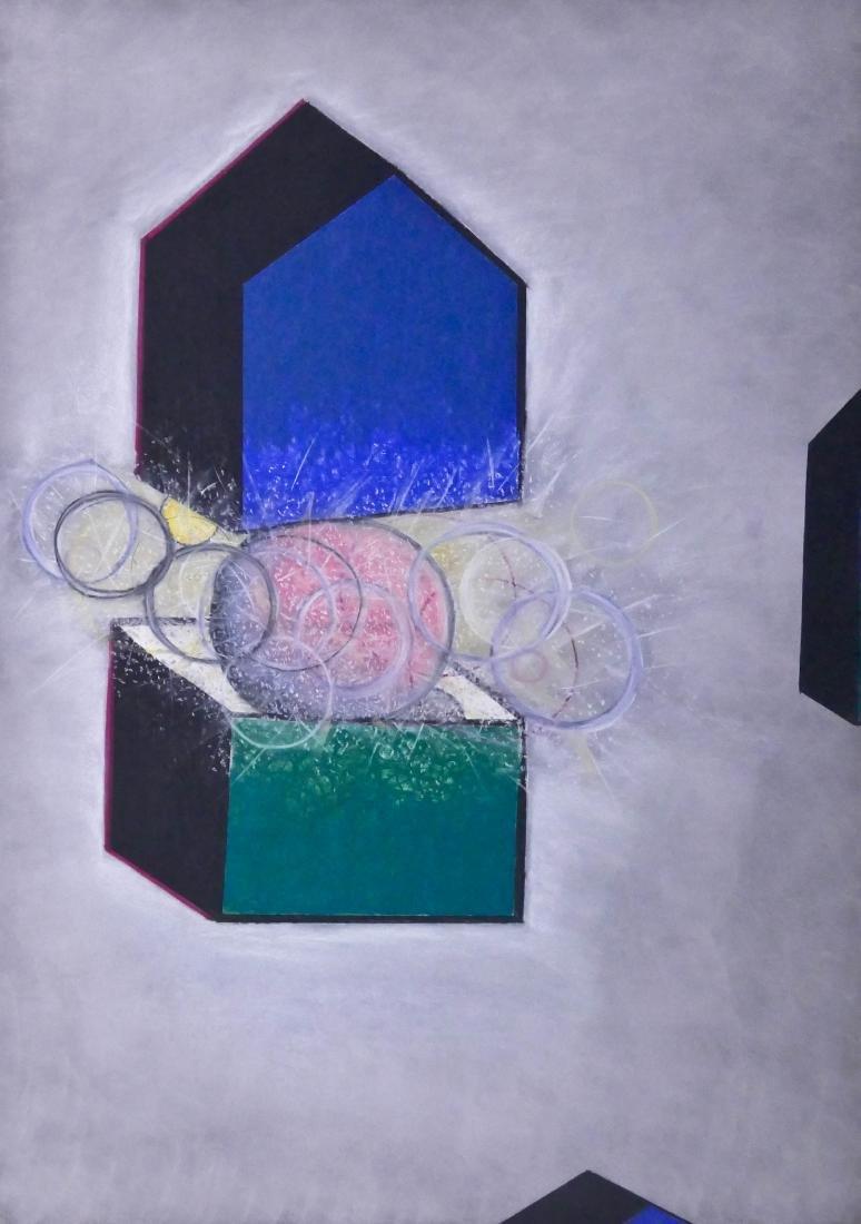 Carolyn Law (b.1951 American) Untitled (Shelter Theme)