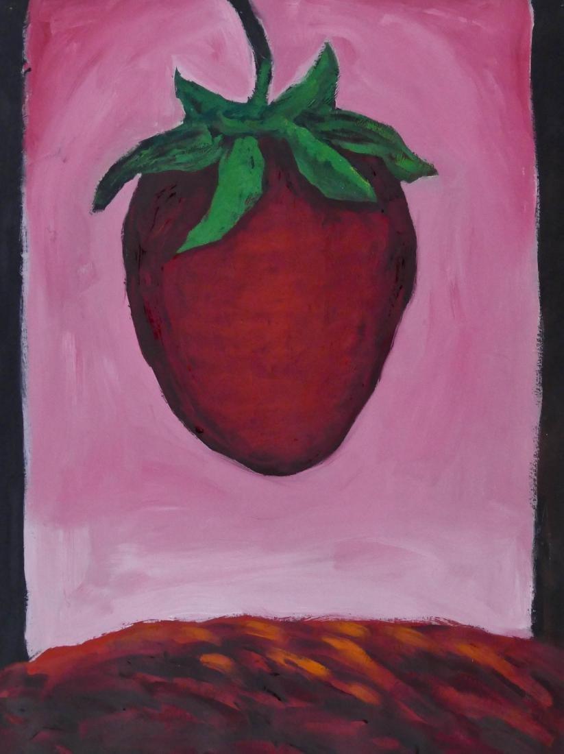 Suzanne Duryea (b.1947 Oregon) ''Strawberry Season''