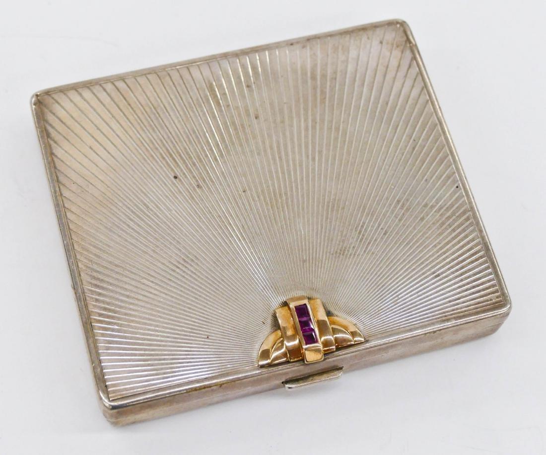 Tiffany & Co. Art Deco Sterling Cigarette Case