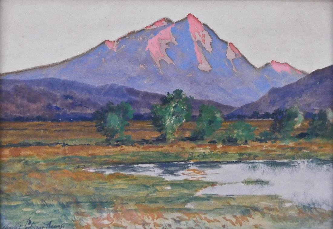 Charles Partridge Adams (1858-1942 American) Mountain