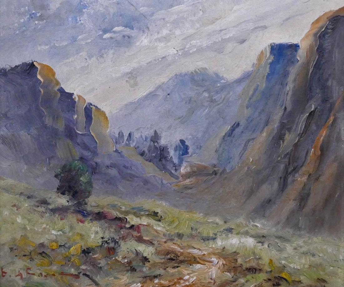 Eugene La Foret (b.1931 New York) Mountain Landscape