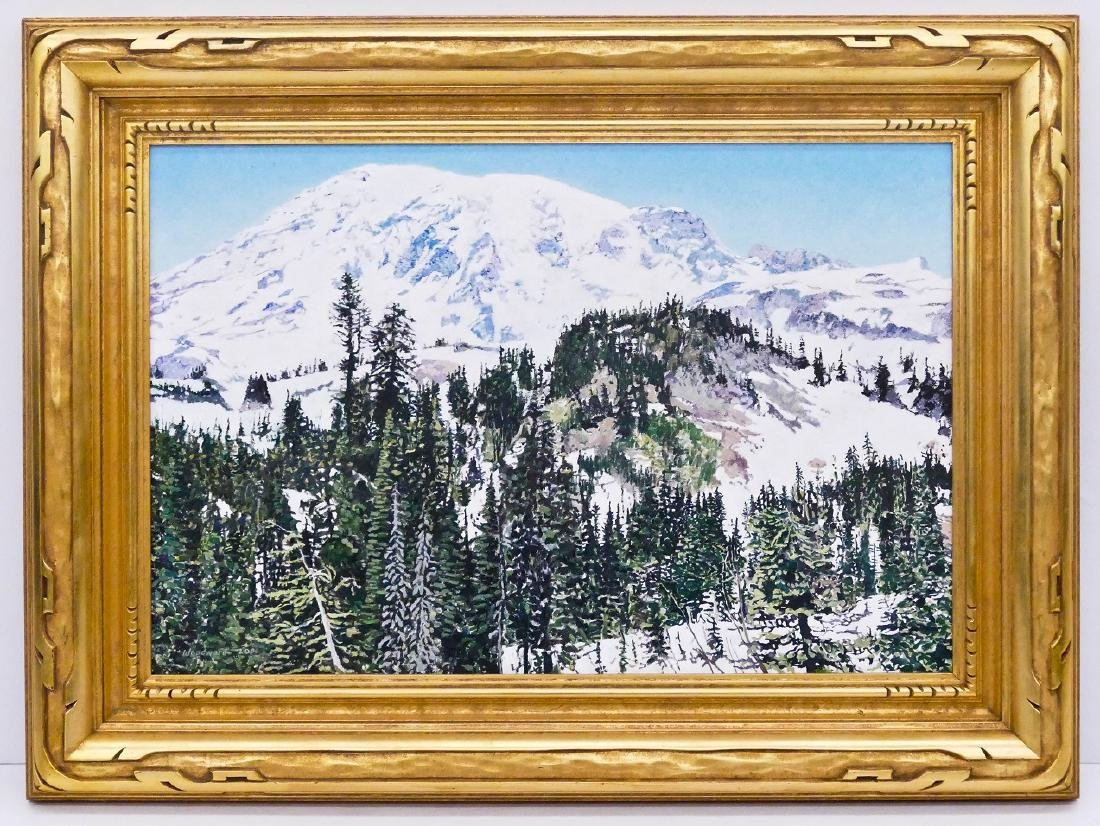 Kesler Woodward (b.1951 Alaska) ''Summer Solstice,