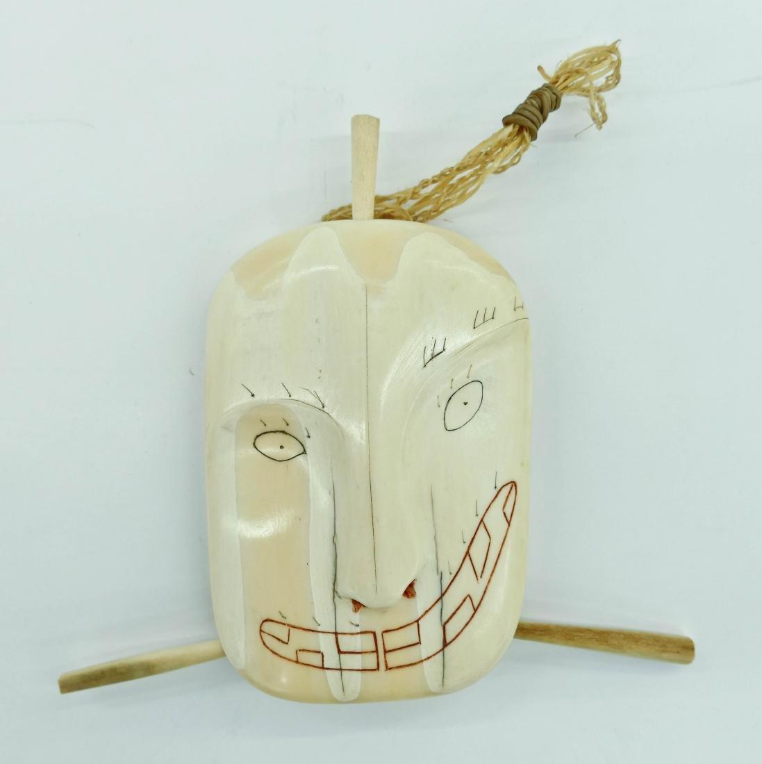 Andrew Noatak (1900-1990 Inuit) Irci Spirit Mask
