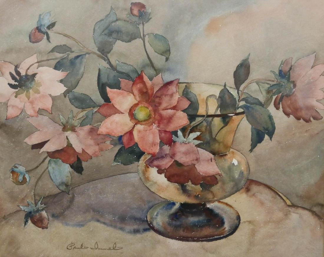 Paul Immel (1896-1964 Washington) Floral Still Life