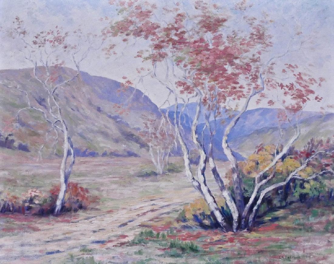 Loren Roberta Barton (1893-1975 California) ''Sycamore