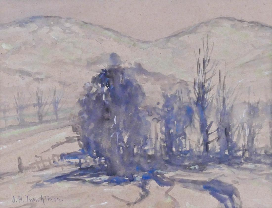 John Henry Twachtman (1853-1902 American) ''Winter