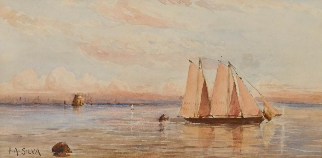 Francis Augustus Silva (1835-1886 New York) Maritime