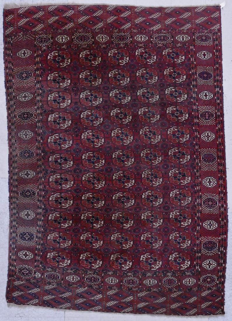 Antique Princess Bokhara Oriental Rug 6'2''x9'.