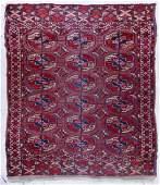 Antique Bokhara Oriental Scatter Rug 32x311