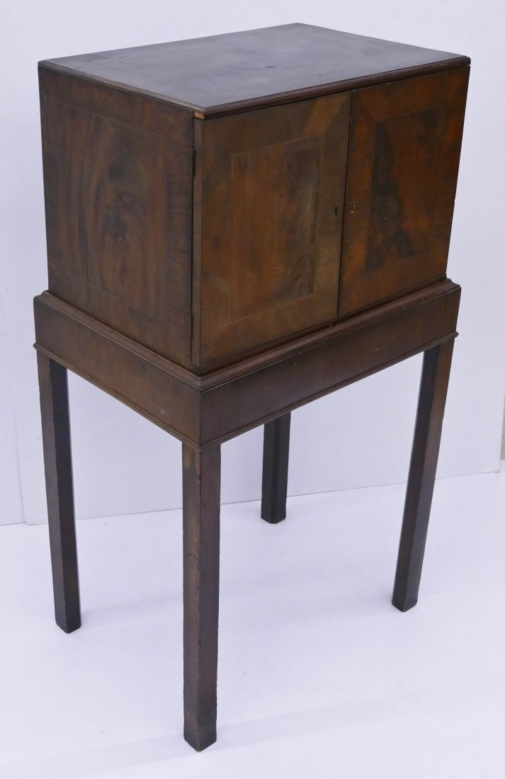 Fine Indo-Portuguese Inlaid Rosewood Collector's Cabine - 5