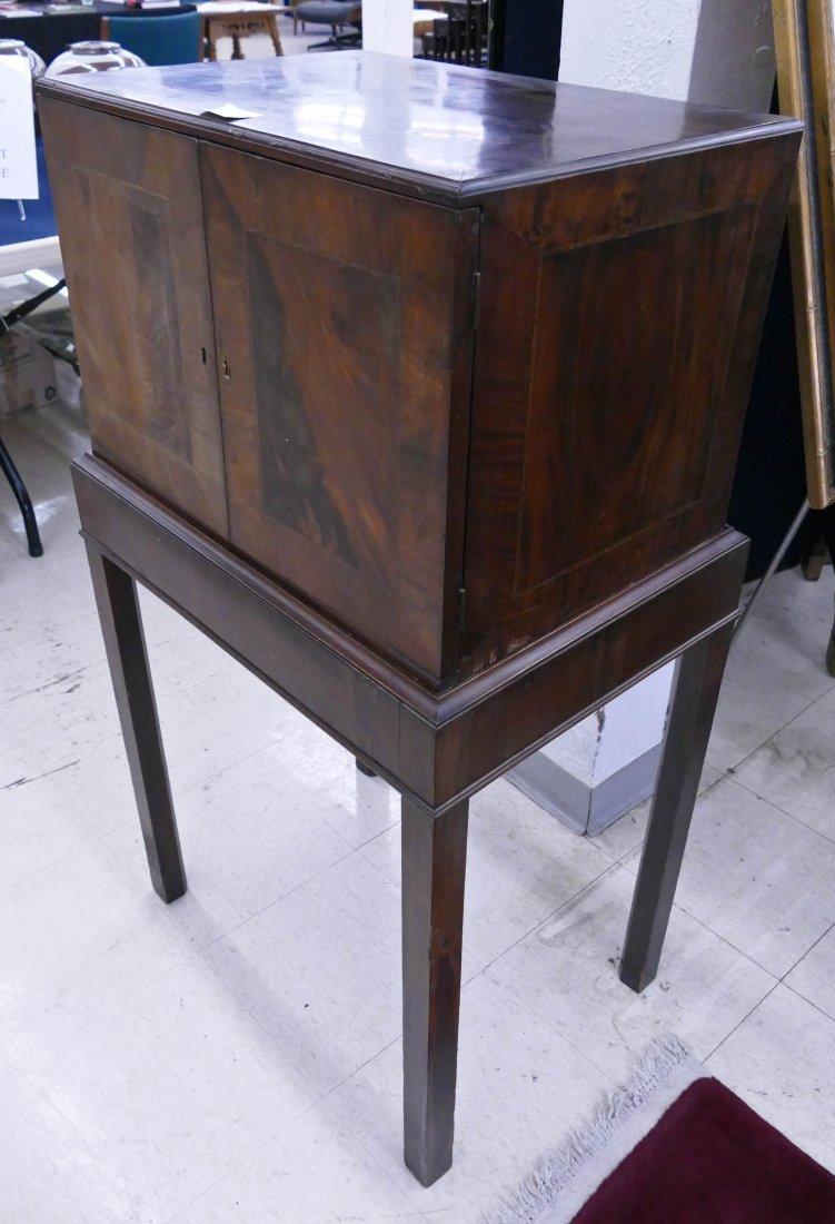 Fine Indo-Portuguese Inlaid Rosewood Collector's Cabine - 8