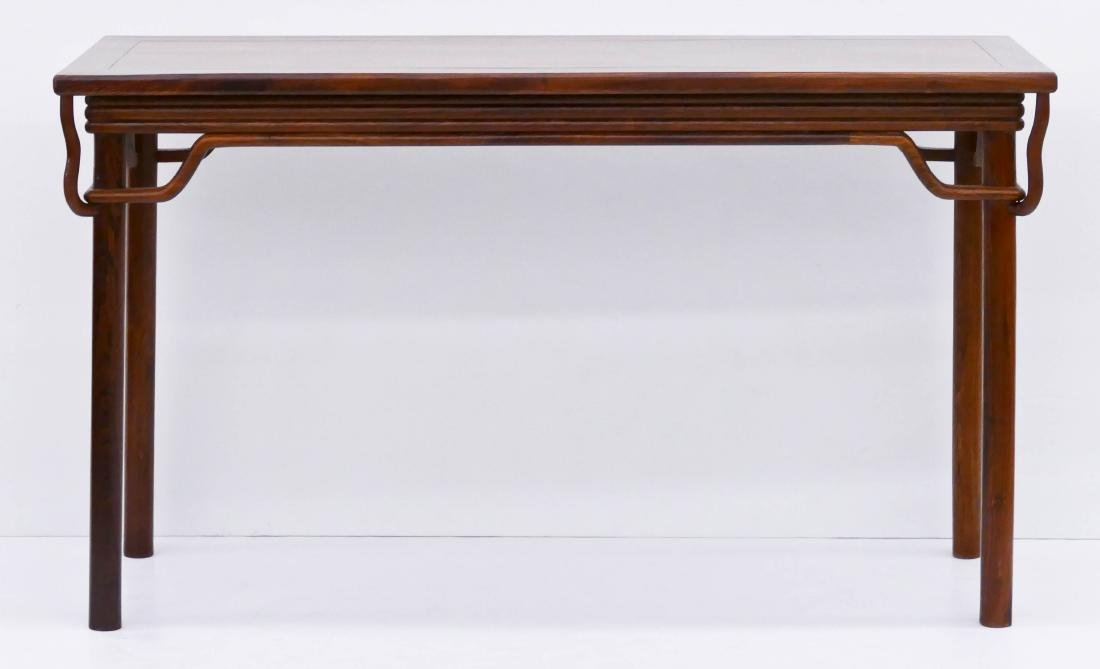 Chinese Huanghuali Altar Table 32.5''x56''x19.5''. A