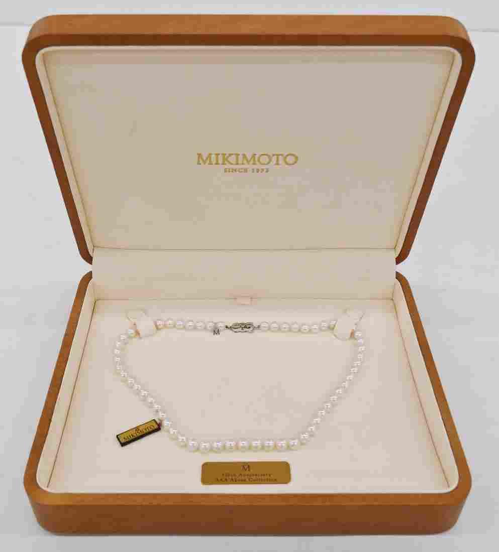 Mikimoto 110th Anniversary Collection Platinum Rose