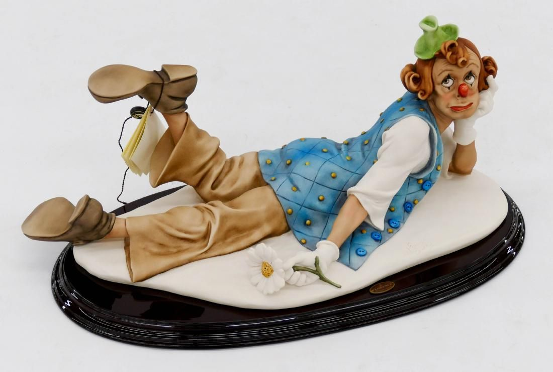 Giuseppe Armani ''Lazy Clown'' 2006 Resin Sculpture
