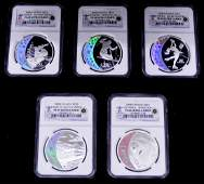 2008 25 Canada Olympics NGC PF69 Coin Set in