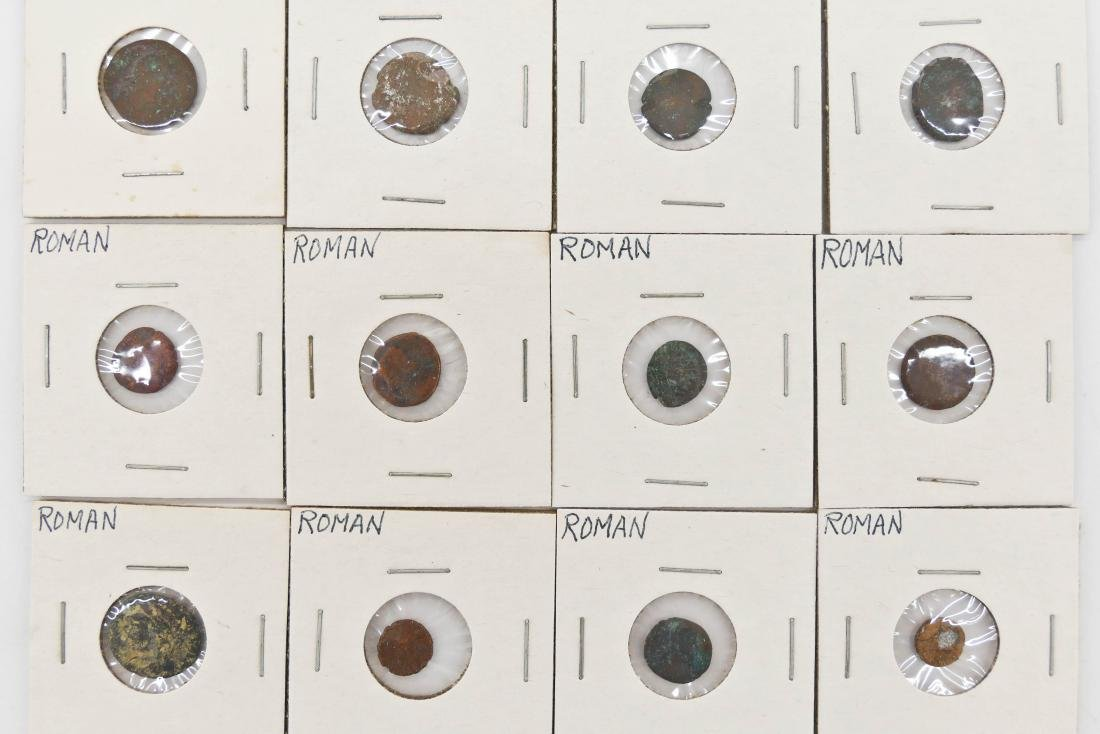 45pc Ancient Roman Empire & India Coins. Includes (39) - 5