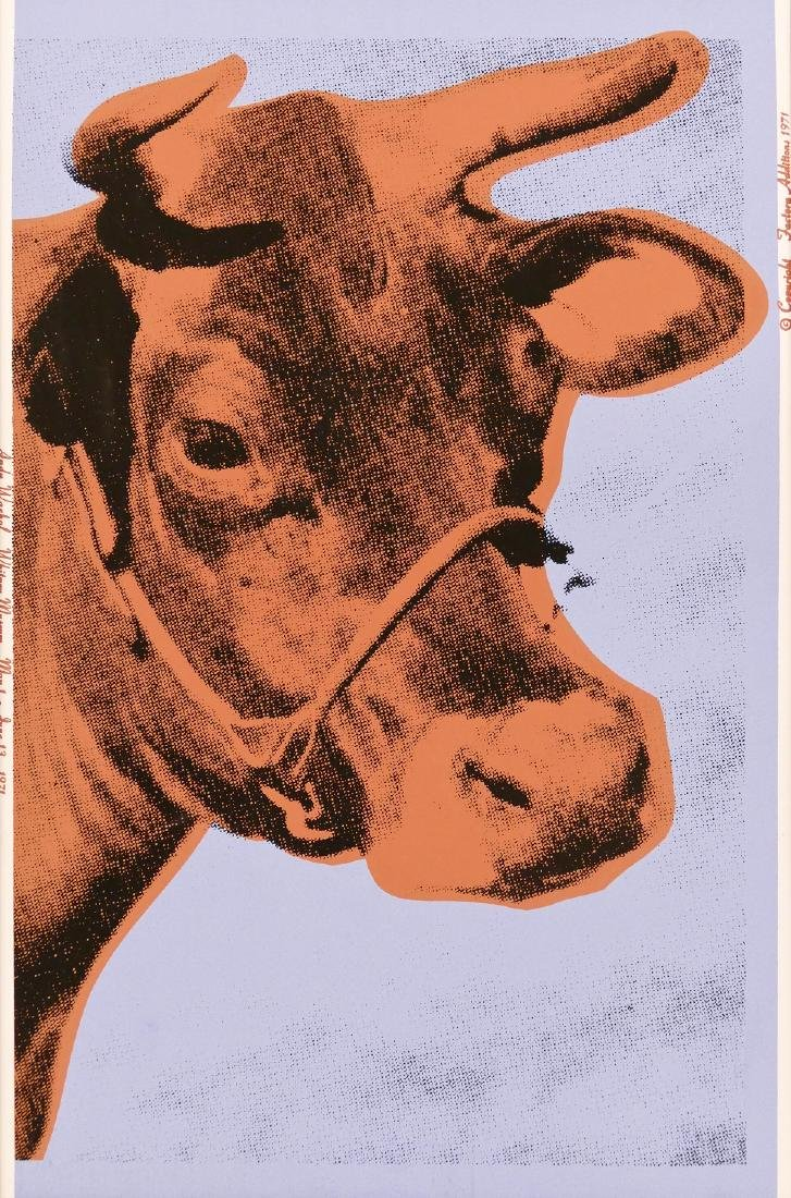 Andy Warhol (1928-1987 New York) ''Cow'' (F&S 11.A)