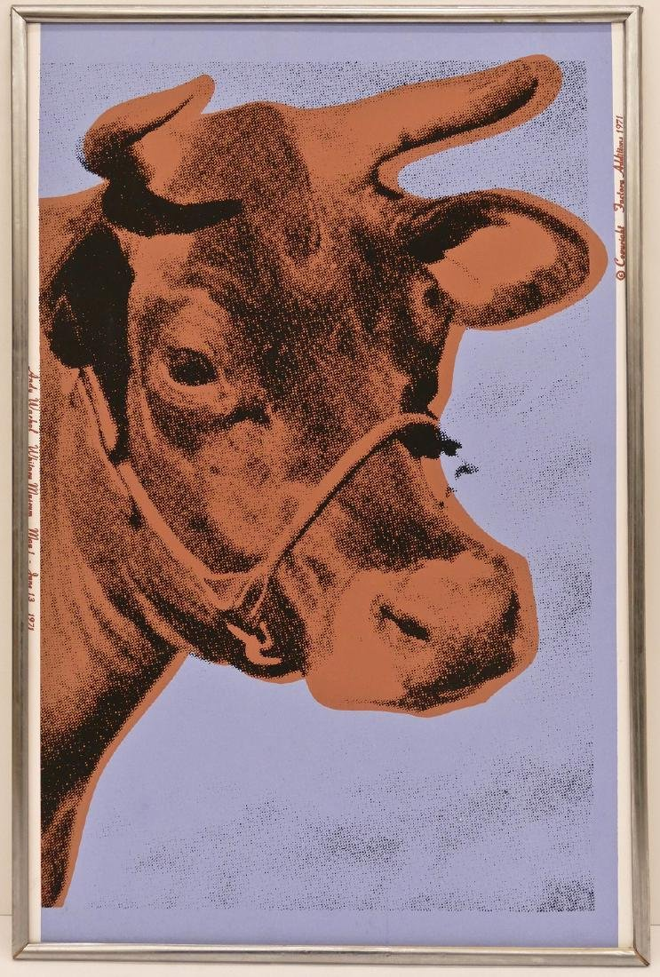 Andy Warhol (1928-1987 New York) ''Cow'' (F&S 11.A) - 2