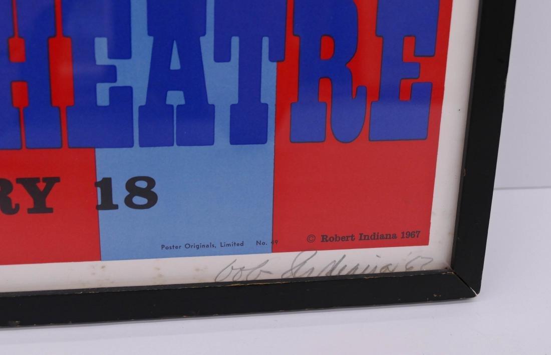 Robert Indiana ''An American Pop Opera'' 1967 Signed - 3