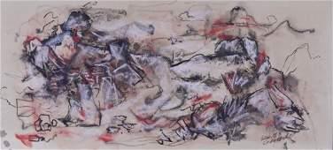 Kenneth Callahan (1905-1986 American) Untitled