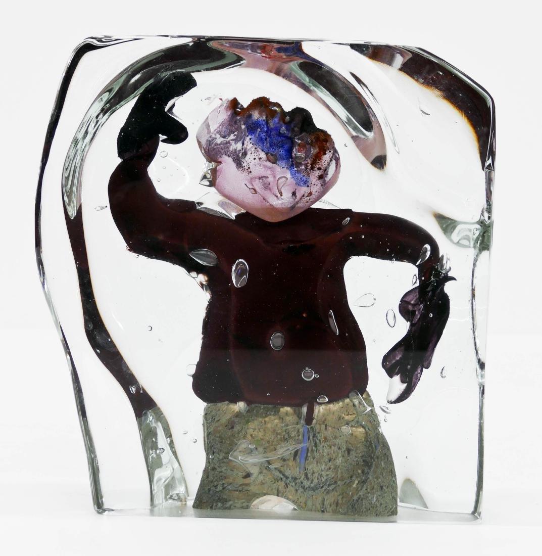 David Hopper (b.1946 American) Figure Sculpture 1986