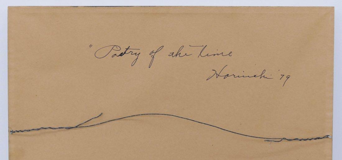 """Paul Horiuchi (1906-1999 Washington) """"Poetry of the Tim - 3"""