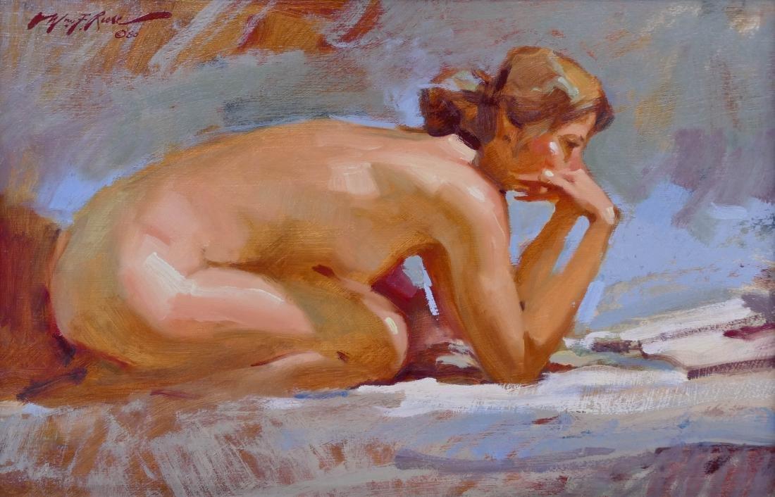 William F. Reese (1938-2010 Washington) ''Kneeling