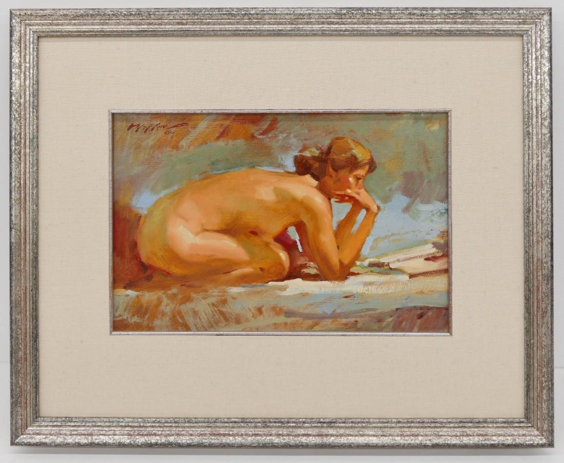 William F. Reese (1938-2010 Washington) ''Kneeling - 2