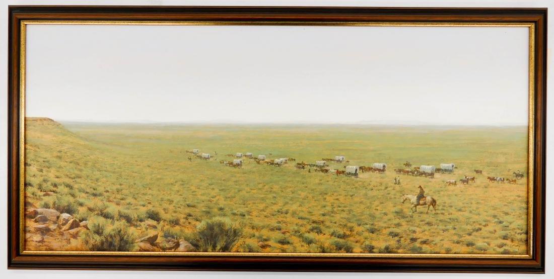 Don Gray (b.1948 Oregon) ''Across the Desert'' 1987 - 2