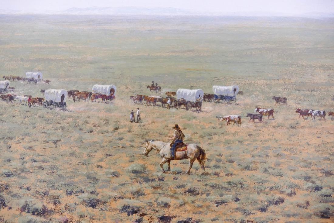 Don Gray (b.1948 Oregon) ''Across the Desert'' 1987 - 3