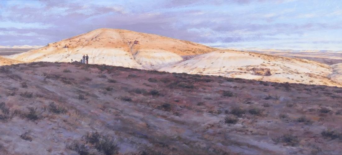 Don Gray (b.1948 Oregon) ''Passing Through'' 1987