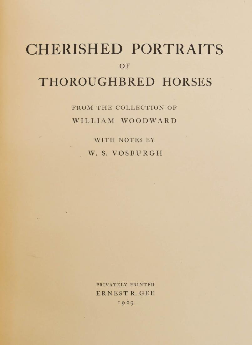 ''Cherished Portraits of Thoroughbred Horses from the - 4