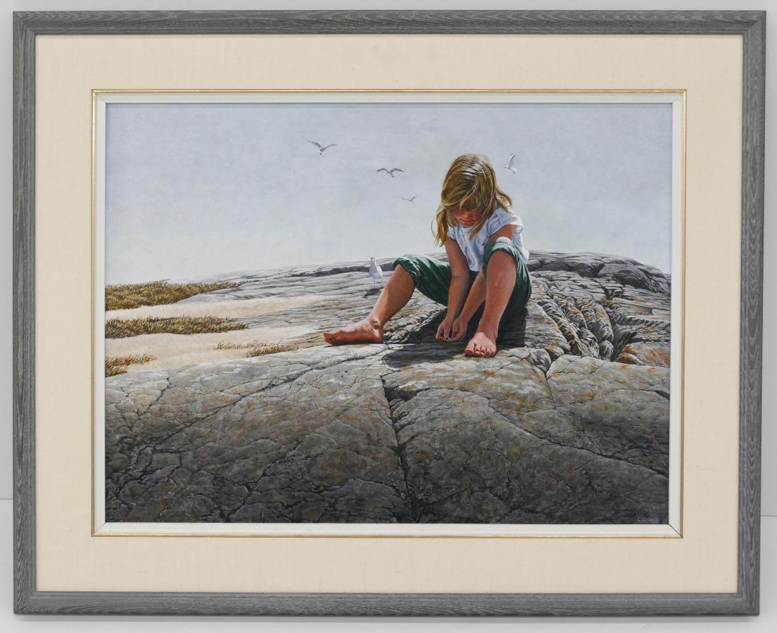 Leonard ''Len'' Gibbs (1929-2010 Canadian) - 2