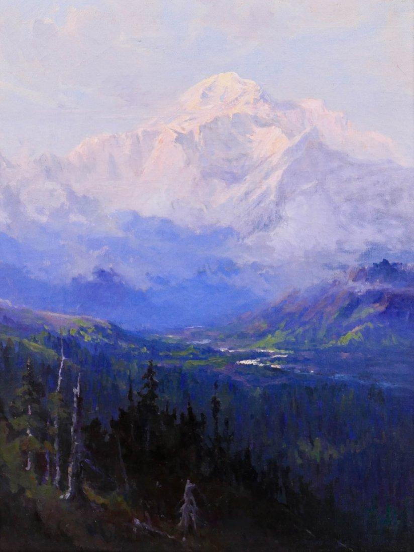 Sydney Laurence (1865-1940 Alaska) ''Mount McKinley,
