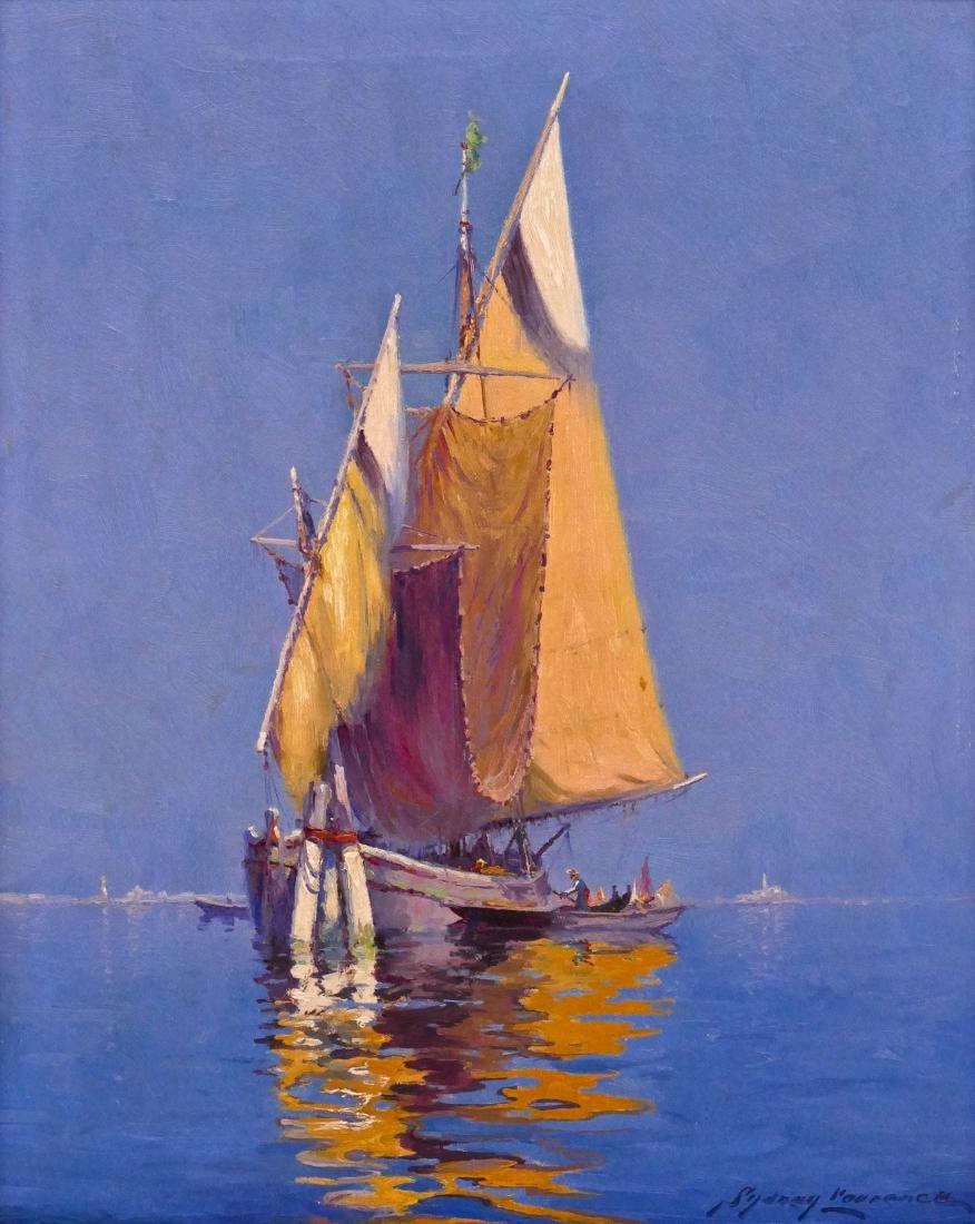 Sydney Laurence (1865-1940 Alaska) Venetian Fishing