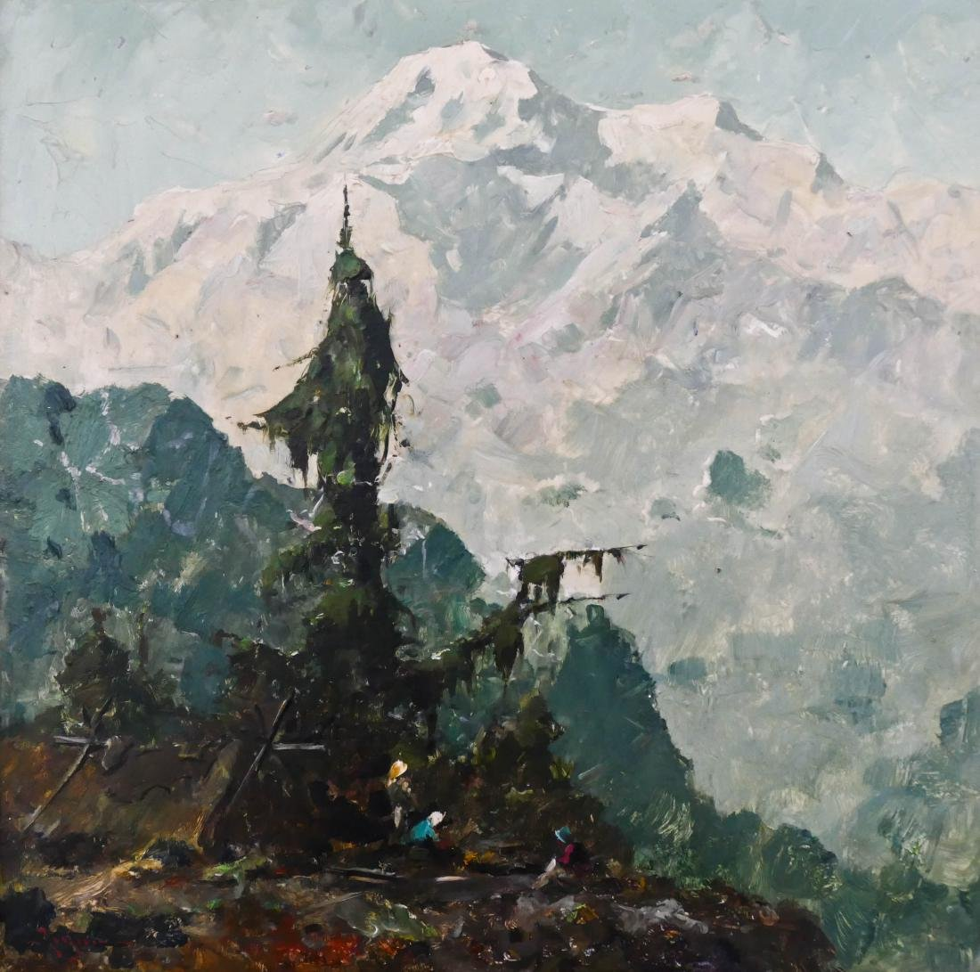Eustace Ziegler (1881-1969 Washington) ''Mt. McKinley