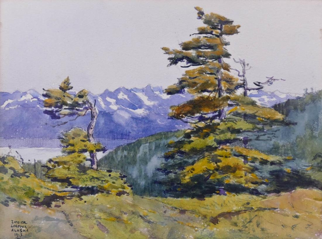 Eustace Ziegler (1881-1969 Washington) ''Cordova