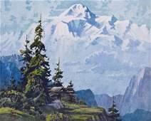 Roy Terry (1910-2003 Washington) ''Mt. McKinley''