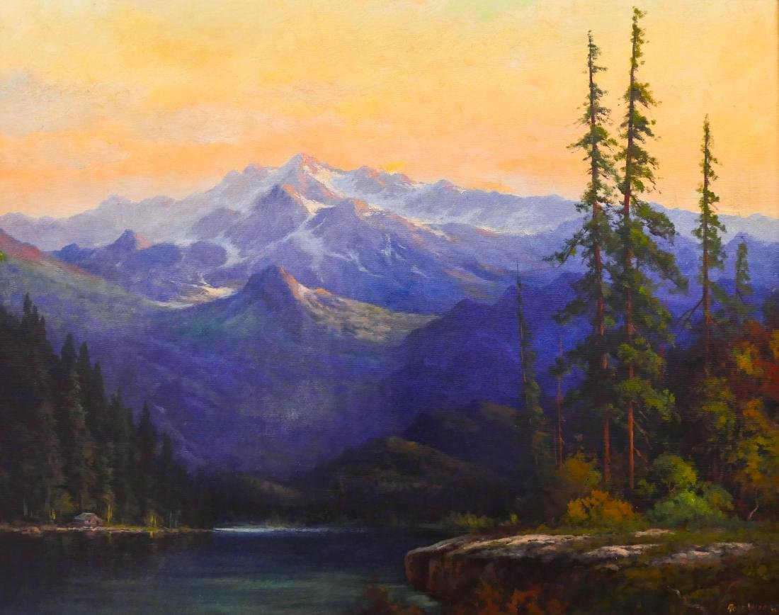 Robert William Wood (1889-1979 American) Sierra
