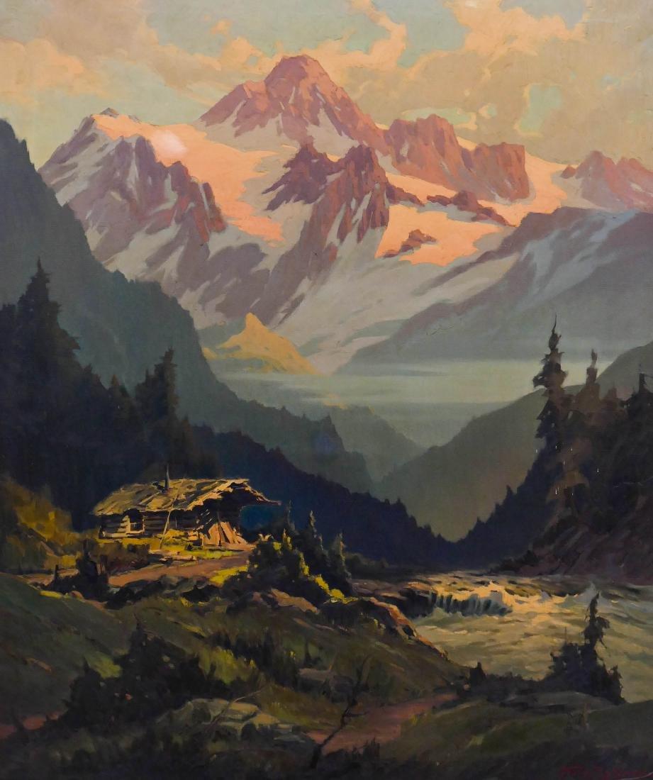 Franz Zallinger (1894-1962 Washington) Western